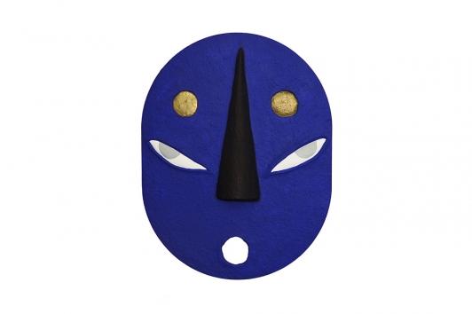Masque Xavier Noël © Luc Bertrand