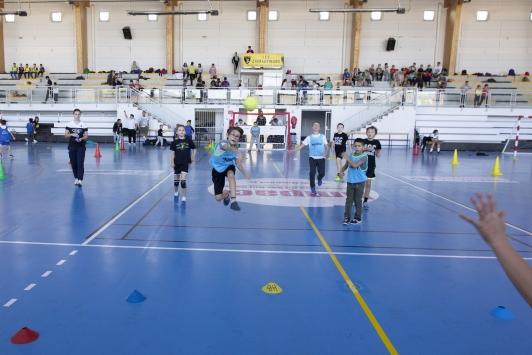 MIG TPM, journée Handball avec le TSCVHB