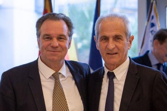 Renaud Muselier et Hubert Falco