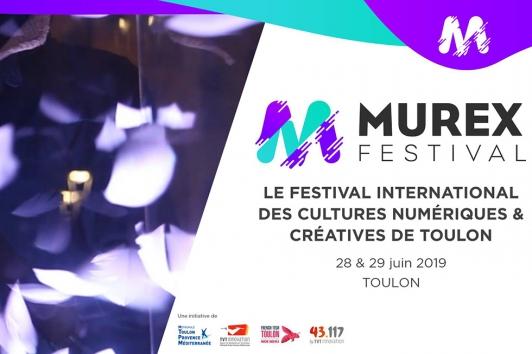 MUREX Festival International des cultures numériques et créatives