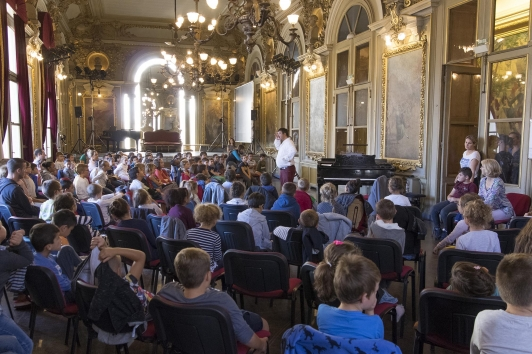Le Printemps des jeunes à l'Opéra
