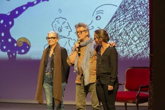 Josée Sicard, Erick Margouet et Valérie Caranta