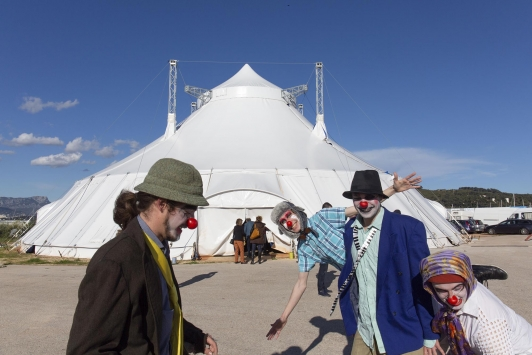 Le Pôle - Chapiteau cirque ©Olivier Pastor