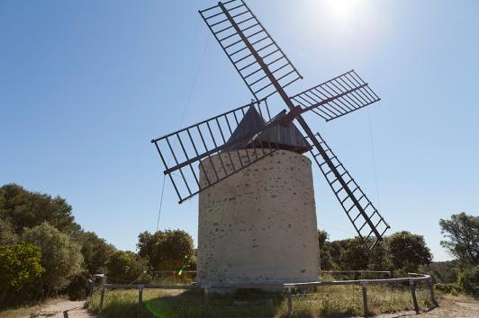Moulin du Bonheur, Porquerolles © Hortense Hébrard