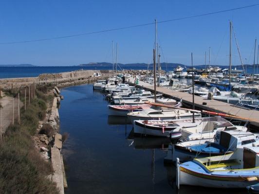 Hyères - Port de la Capte
