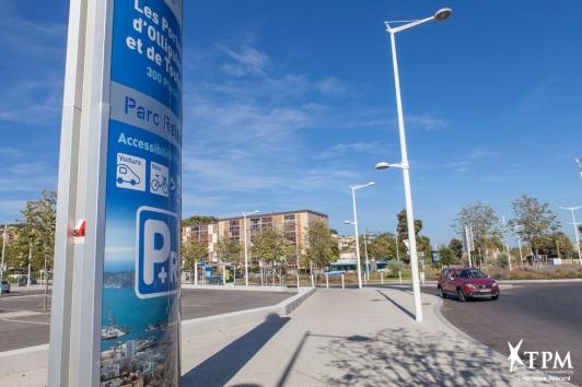 Parking relais des Portes d'Ollioules et de Toulon