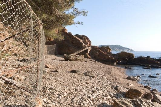 Sentier du littoral au Pradet - Les Bonnettes