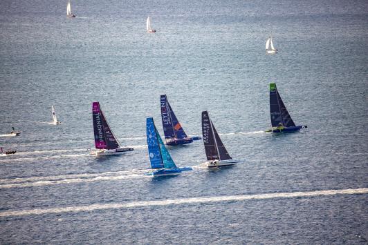 Départ de la finale vers Brest - Prosailing Tour