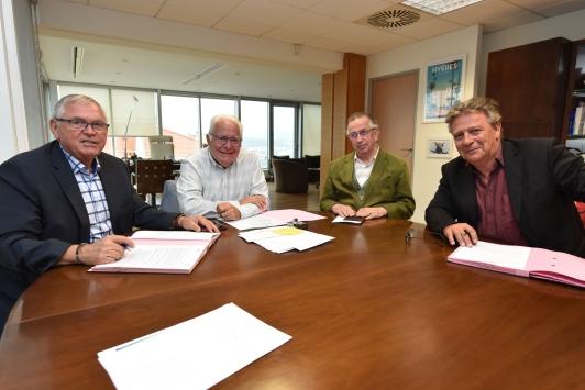 Signature du contrat de cooperation Smilo 2019
