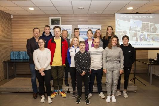 Cérémonie de remise des Prix des Sportifs de haut niveau TPM 2019