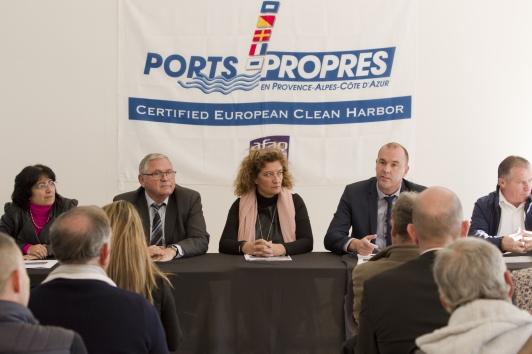 """Conférence de presse Saint-Mandrier """"Ports Propres"""""""