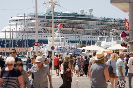 Toulon, destination croisières
