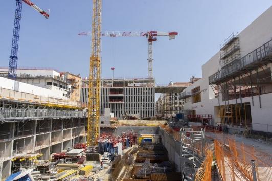 Façade du bâtiment CCIV