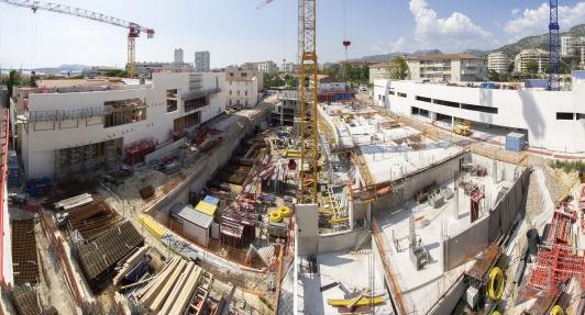 Vue générale du chantier - point travaux fin août 2018