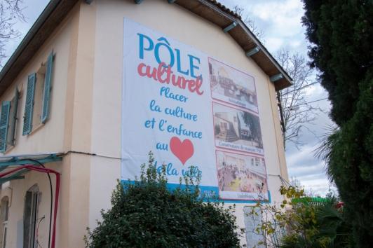 Travaux Conservatoire TPM Ville du Pradet ©MétropoleTPM