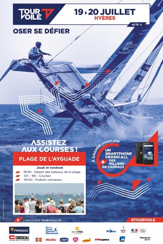 Etape TFV à Hyères - bateau TPM