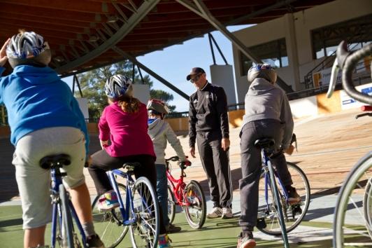 """Dispositif """"savoir rouler à vélo"""" vélodrome TPM"""