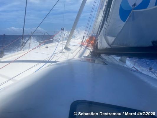 Sébastien Destremau - Merci, le 28-11-2020, VendéeGlobe