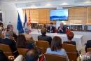 Conférence de presse en mairie d'honneur à Toulon