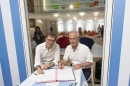 Serge Lasvignes, président du Centre Pompidou et Hubert Falco, président de TPM, se sont engagés pour 3 ans
