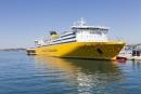 Ferrys vers la Corse sur le Port de Toulon