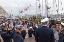 Le départ de la flottille Merhermione du port de Toulon