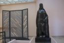 Nu à la draperie, Henri Laurens (bronze 1927), villa Noailles
