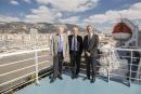 Jacques Bianchi, Hubert Falco et Pierre Mattei ont annoncé l'électrification des quais et des bateaux