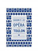 Programme Opéra de Toulon saison 2021-2022