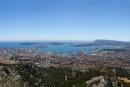 La rade vue du mont Faron