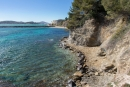 Sentier du littoral - Pipady - Toulon