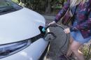 recharge de voitures électriques