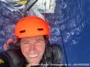 Clément Giraud, en haut de son mat le 03.12.2020