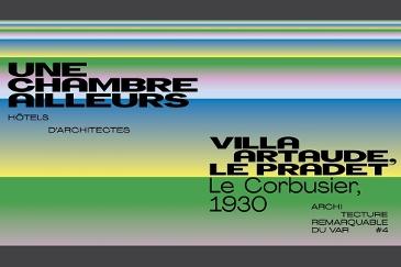 Expositions d'architecture à la villa Noailles
