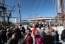 Le Mutin est ouvert aux visites durant toute l'escale quai de la Corse