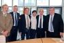 Robert Cavanna, Yannick Chenevard, Renaud Muselier, Josy Chambon, Hubert Falco et Marc Giraud
