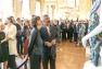 Audrey Azouley et Jean-Pierre Blanc lors de l'inauguration de l'exposition ©Abdelwaheb Didi