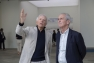 Edouard Carmignac et Hubert Falco