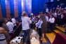 J-4 : réunion des bénévoles au Palais Neptune avec remise des consignes, tshirts, casquettes,...