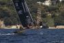 Les seconds de l'étape Soft Bank Team Japan devant le littoral toulonnais