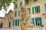Statue Bastide du Jardin remarquable de Baudouvin