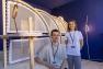 Guillaume Fabbri et Andrea Techer à l'Evêché - Finalistes Design Parade Toulon