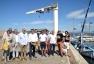 Inauguration travaux d'optimisation du plan d'eau - port du Brusc