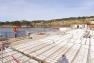Les fondations de la future Gare maritime-Capitainerie - Tour Fondue