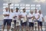 Remise des prix au grand vainqueur du circuit GC32: Norauto skippé par Franck Cammas