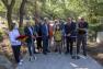 Inauguration travaux de requalification du chemin de Faveyrolles