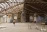 Les grands combles, future salle de repétition pour l'Orchestre