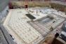 La membrane sur les fondations du plot de l'ESAD - nov 2017