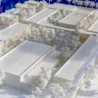 Maquette du futur Lycée Golf Hôtel à Hyères - Duchier Pietra Architectes
